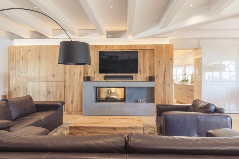 Wohnzimmer Holz